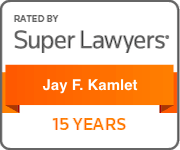 Jay Kamlet Super Lawyers 15 Years